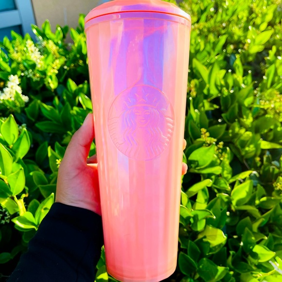 Starbucks Pink Venti Cup Summer 2021 Release